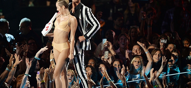 Miley Cyrus at the VMAs | Shake a Tail Feather, Baby