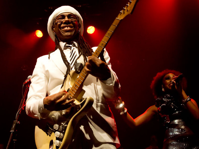 IN PHOTOS: Chic featuring Nile Rodgers @ The Tivoli, Brisbane, 15.12.13