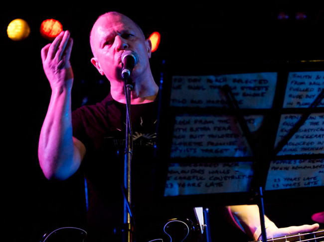 Live Review: Wire, Per Purpose, Multiple Man @ The Zoo, Brisbane, 19.02.14