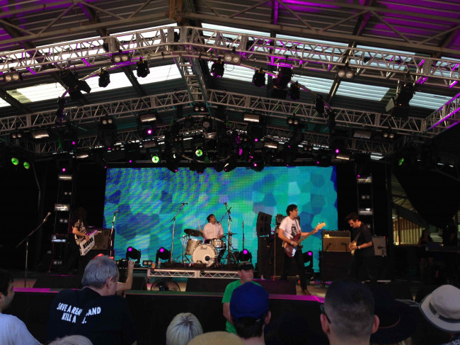 In Words: Meredith Festival 2014, Day 1, 12.12.14