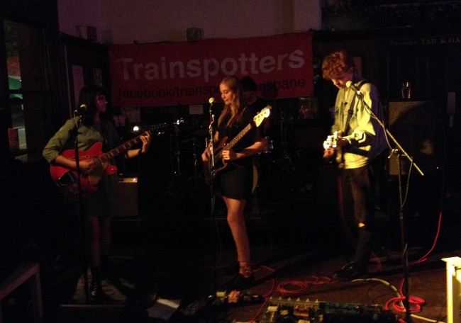 Babaganouj + Some Jerks @ Trainspotters, Brisbane 25.01.15
