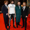 Kasabian at the BAFTAs | Just a bunch of smug unfunny twats on a red carpet