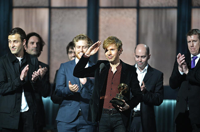 The campaign for real rock 2015   Beck at the Grammys