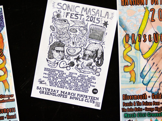 In Photos: Sonic Masala Fest 2015 @ Greenslopes Bowls Club, 14.03.2015 – Part 1