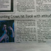 Counting Crows hit Tivoli with attitude | and 12 more metaphors involving dogs