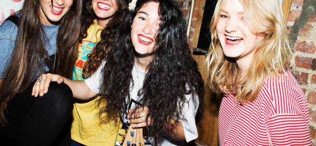 """Rock n' Roll Soldiers"": An interview with Carlotta Cosails of Hinds"