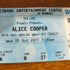 Alice Cooper @ Brisbane Entertainment Centre, 25.10.2017