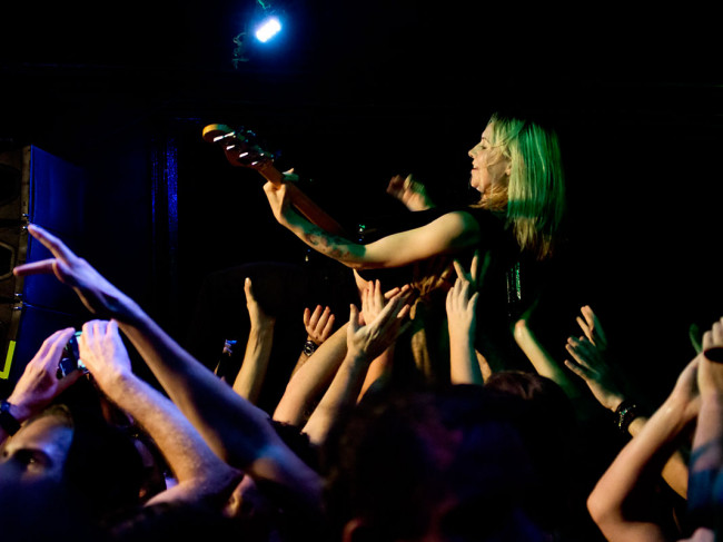 In Photos: Future Of The Left + Turnpike + Hound @ The Foundry, 12.01.2018