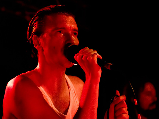 In Photos: Alex Cameron + Body Type + Laurence Pike @ The Foundry, 26.04.2018