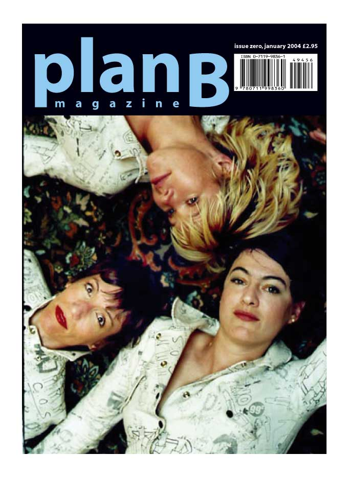 Plan B Magazine #0 - the alternative covers