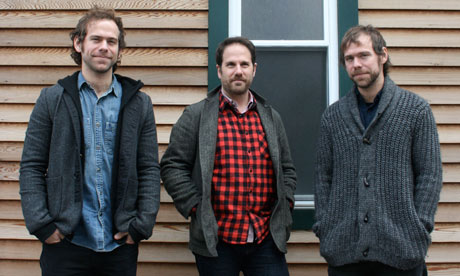 Brassland label founders - photo: The Guardian