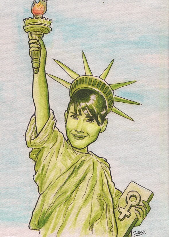 Kathleen-Hanna-art-by-Jhonny-Russell