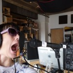 Kathleen Hanna recording vocals for The Julie Ruin