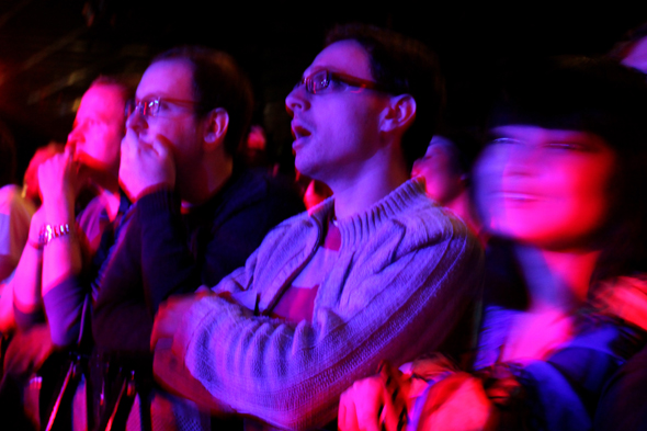 Boredoms fans at ATP