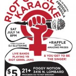 Riot Grrrl Karaoke Portland celebrates, connects, creates