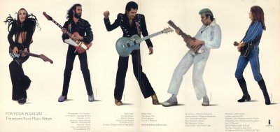 roxy music for your pleasure gatefold