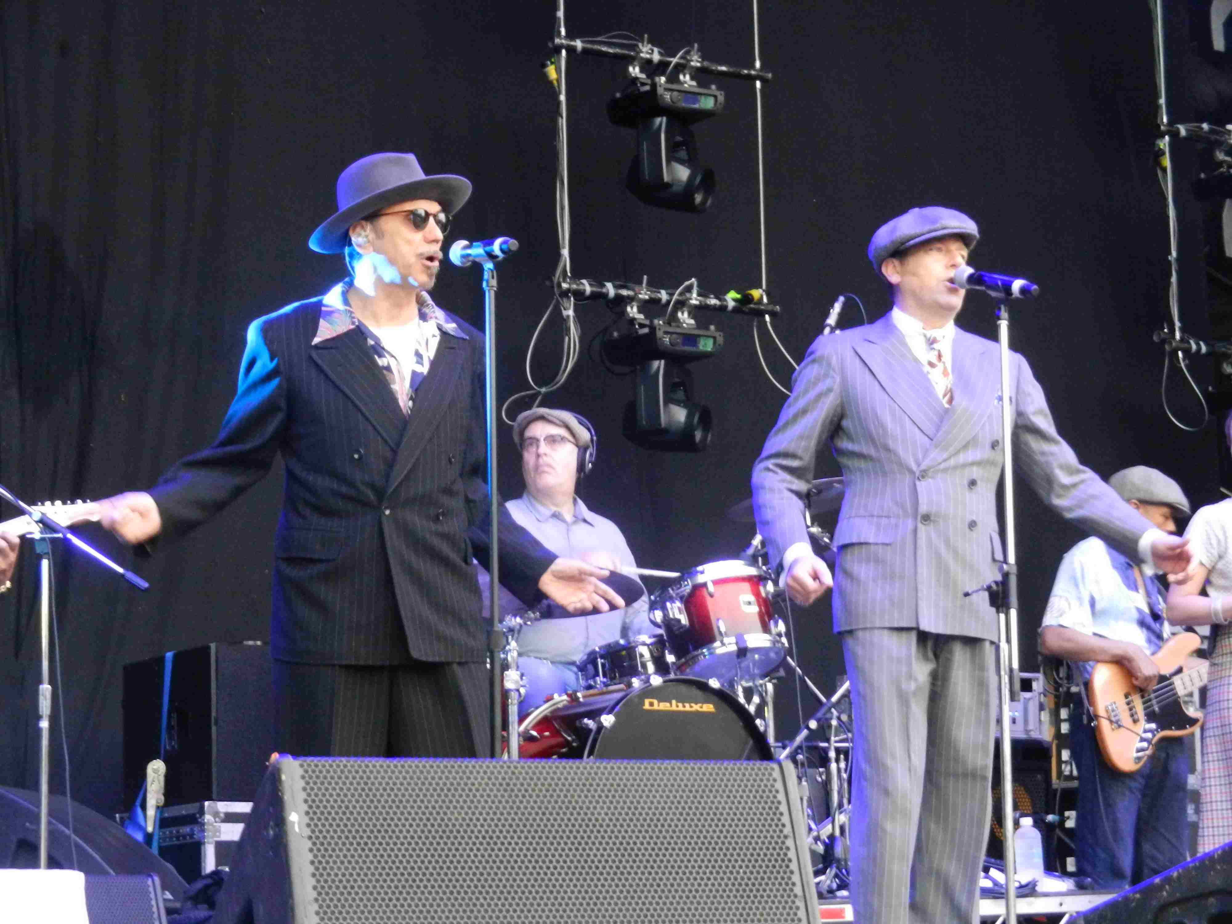 Dexys in Brisbane 2012 (Kevin, Pete)