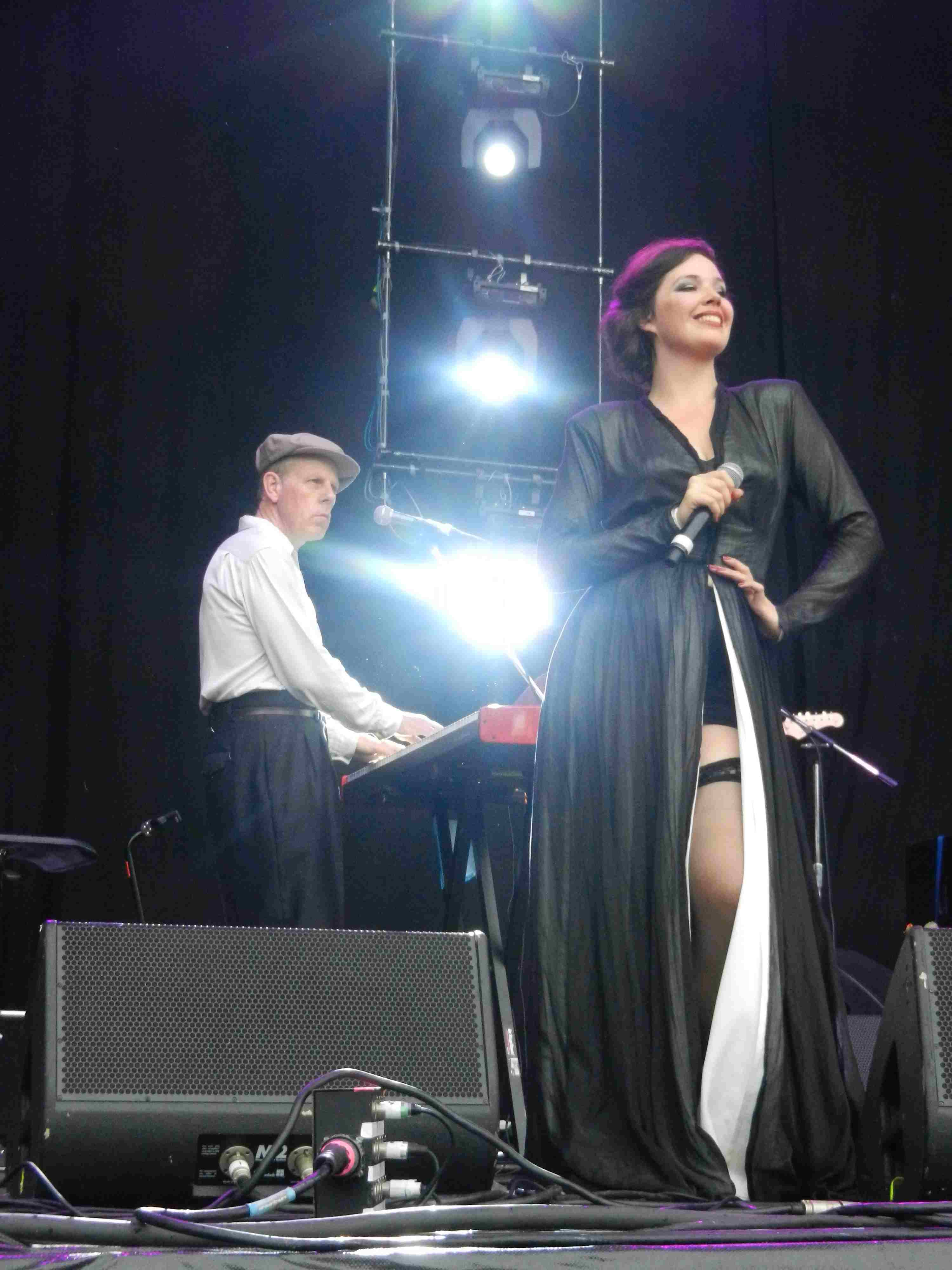 Dexys in Brisbane 2012 (Mick, Maddy)
