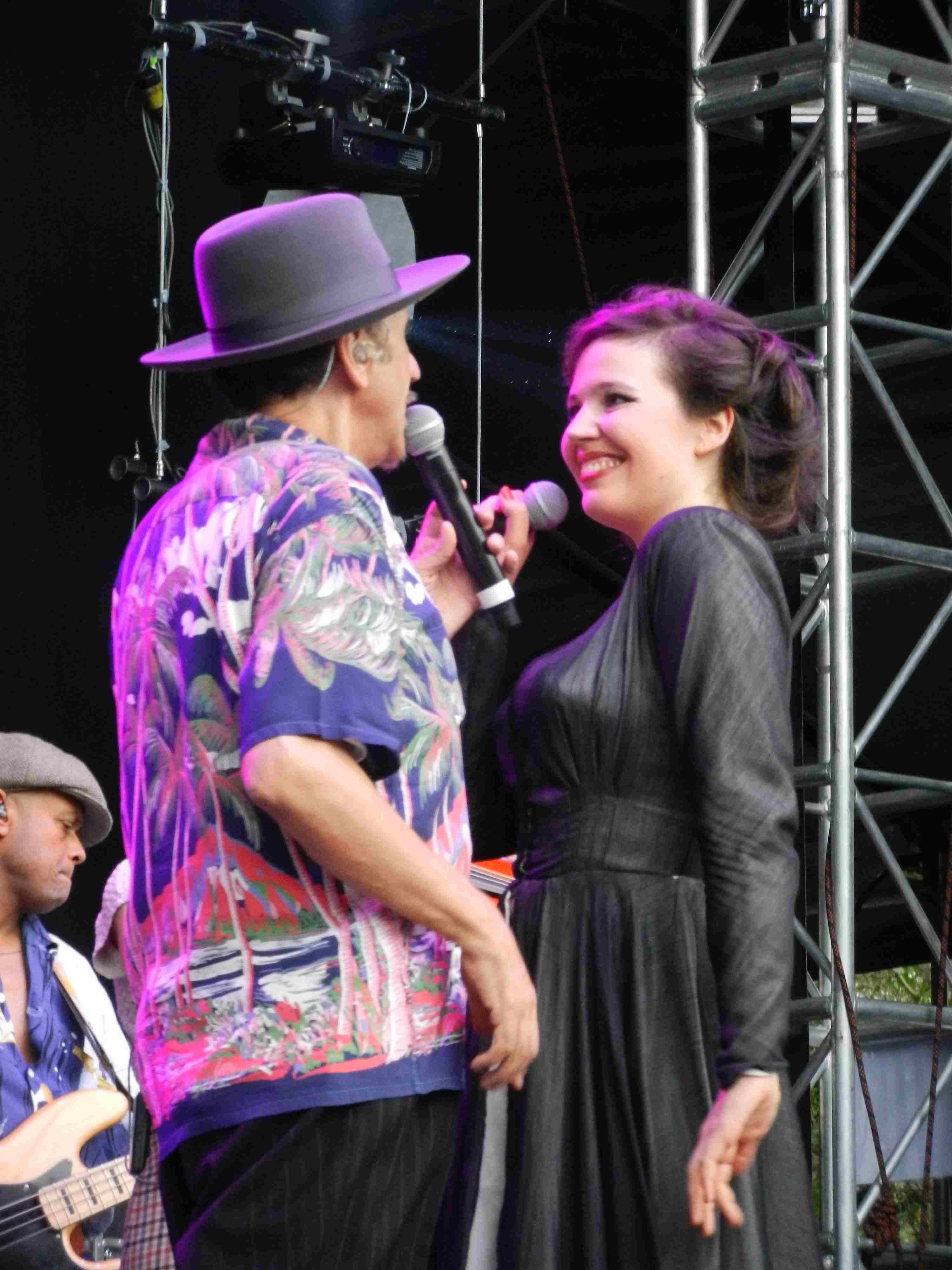 Dexys in Brisbane 2012 (Kevin, Maddy)