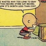 Charlie Brown Kickstarter Collapse Board