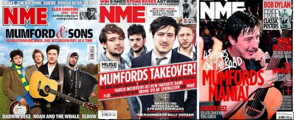 NME Mumford & Sons