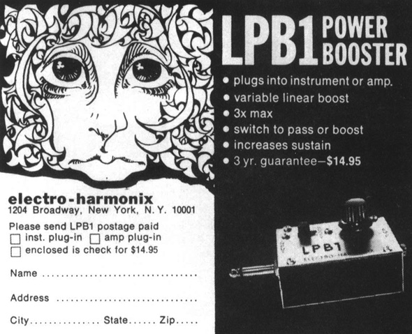 LPB1 precursor to Big Muff