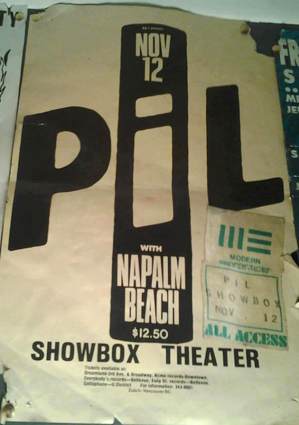 PIL w Napalm Beach - Showbox Seattle