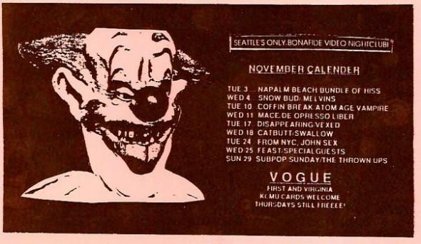 Vogue calendar