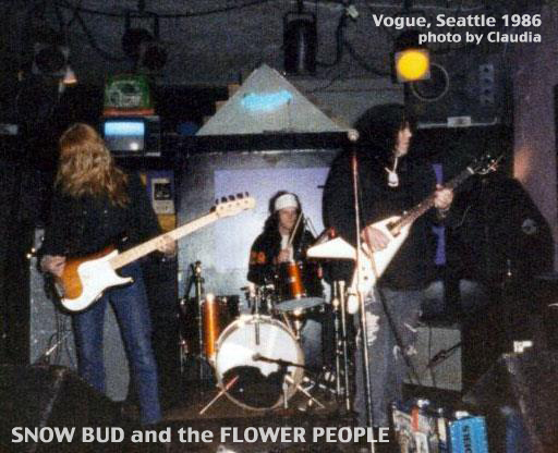Snow Bud at the Vogue 1986