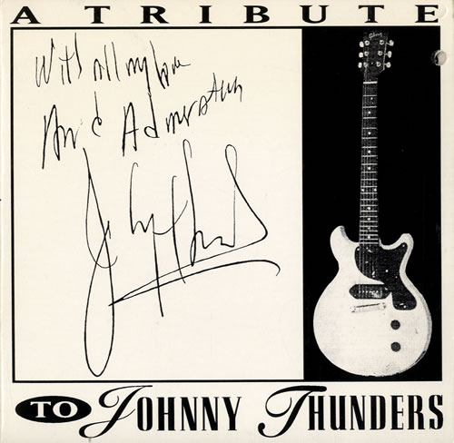 Johnny Thunders Tribute - T/K Records 7 inch