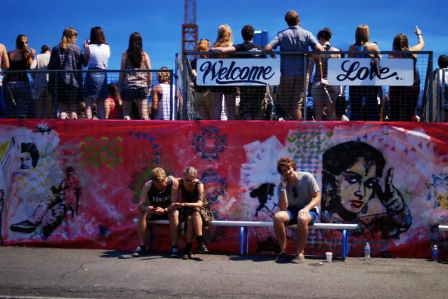 Live Review: Laneway Brisbane 2014, Lorde, HAIM, CHVRCHES + more