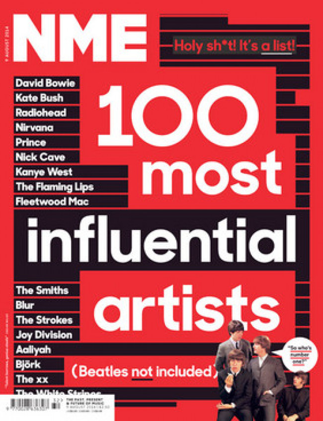 So. That NME List. Let's Talk.