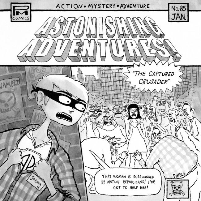 Joanna Gruesome/Perfect Pussy – Astonishing Adventures 7″ (Fortuna Pop!)