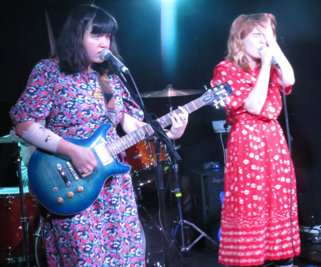 Live! Skating Polly @ Moon Club Cardiff, Wed 15th June 2016